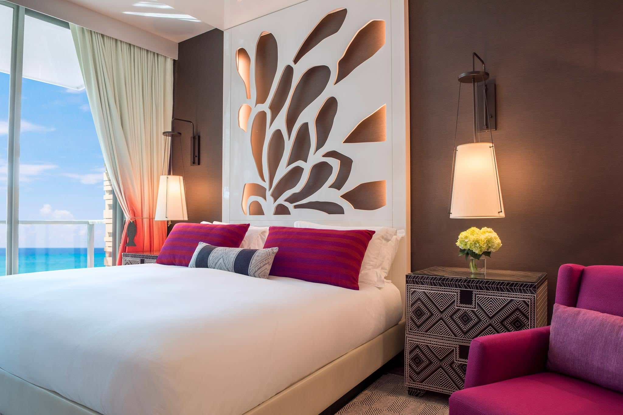 Luxury hotels in Cayman Islands includes Kimpton Seafire Resort + Spa-Bedroom with sea view